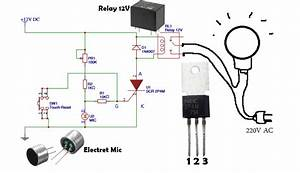 How To Make Automatic Switch On The Light By Voice Or Sounds  U2013 Automatic Switch Circuit  U2013