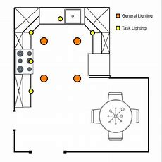 How To Arrange Recessed Lighting (general And Task)  Home