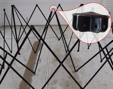 ozark trail    canopy gazebo center peak hub replacement parts ebay