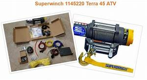 Superwinch Terra 45 Atv Pros And Cons  Review 2018