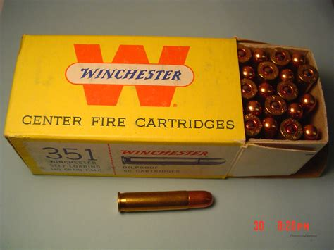 351 Winchester Ammo For Sale