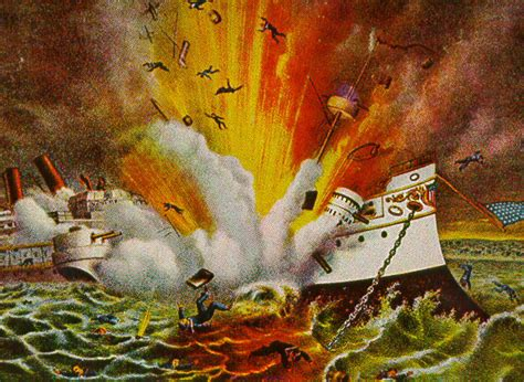 uss maine sinking yellow journalism american war ch 17