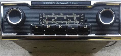 radio becker grand prix classic catawiki