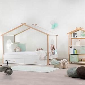 Cabane Chambre Enfant : comment rendre la chambre de votre enfant tendance ao design ~ Teatrodelosmanantiales.com Idées de Décoration