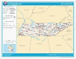 Map Of Columbia Tennessee   Tourist Map Of English