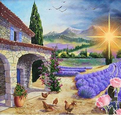 Painting Paintings Landscape Scenery Drawing Watercolor Inspiration
