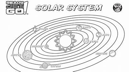 Solar System Coloring Pages Pbs Solarsystem Parents