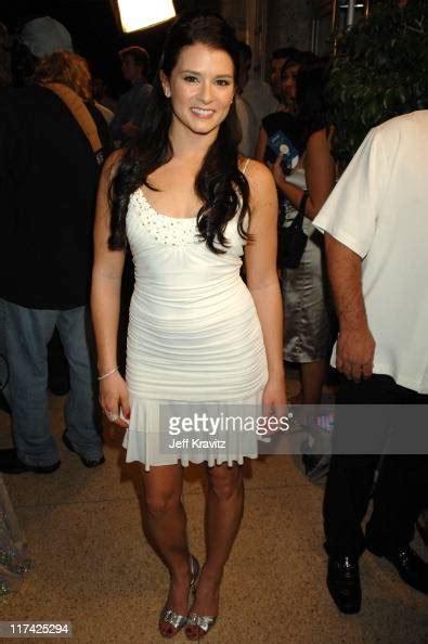 Danica Patrick During Hotel De Maxim Party For Super Bowl