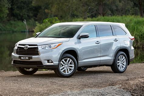The toyota highlander, also known as the toyota kluger (japanese: Toyota Kluger 2014-2018 used car review