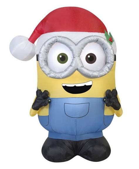 despicable me christmas inflatable minion bob by gemmy