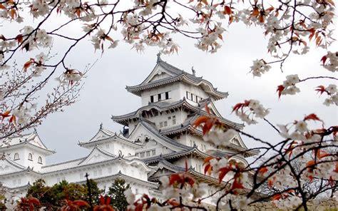 Himeji Castle Hd Wallpaper