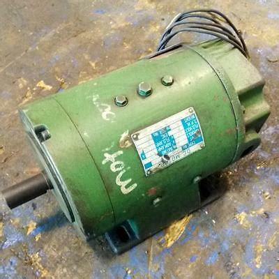 Electric Motor Industry by Nippon Electric Industry Co Ltd 0 75kw 2500rpm Dc Motor