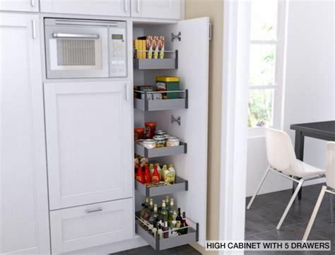 Ikea's Tall Cabinet Accessories