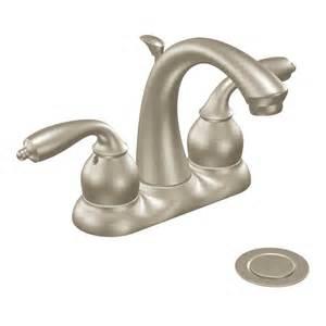 watersense kitchen faucet moen ca84292srn bayhill centerset watersense bathroom sink faucet lowe 39 s canada