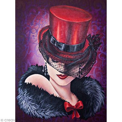 dessiner cuisine 3d image 3d femme femme au chapeau 30 x 40 cm