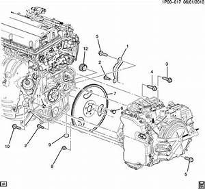 Exploded View Of 2011 Chevrolet Cruze Manual Gearbox