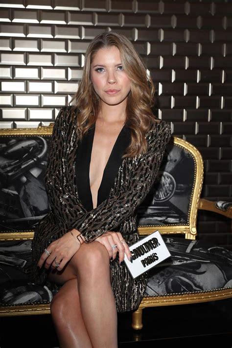 Victoria Swarovski Sexy Braless In Paris Scandal Planet