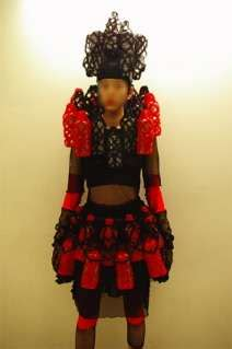 Fashion From Recycled Plastic PET Bottle Samurai Outfit