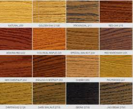 hardwood floor stain color chart wood floors