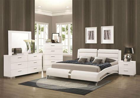stanton ultra modern pcs glossy white king size platform