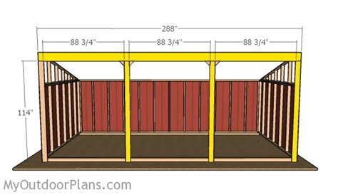 loafing shed plans loafing shed plans myoutdoorplans free woodworking