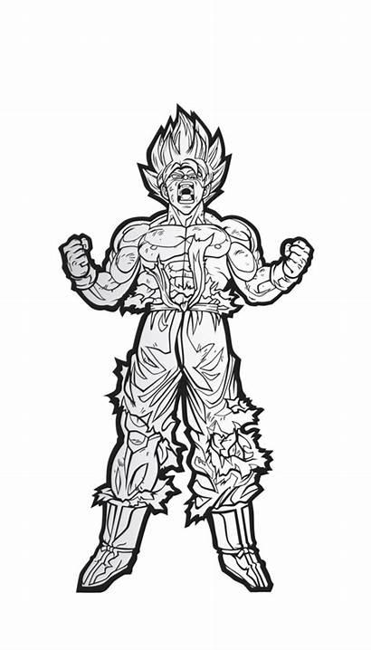 Goku Dragon Ball Drawing Sketch Vegeta Super