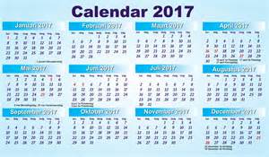 Dutch Holidays 2017 Calendar