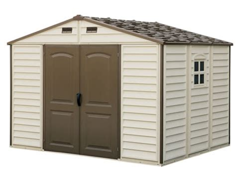 lifetime 10x8 shed assembly sunlight ct duramax woodside 10 x8 vinyl shed 799 99