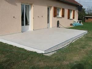 Carreler Terrasse Extérieure Sur Chape Sèche : carreler une terrasse exterieur 12884 ~ Premium-room.com Idées de Décoration