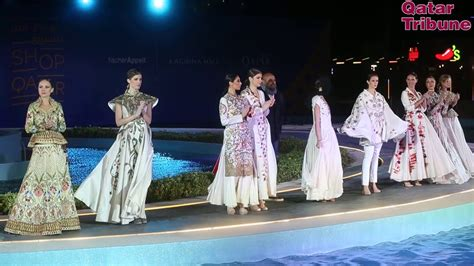 shop qatar fashion show youtube