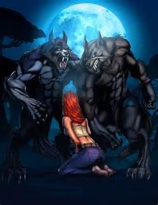 deviantART Werewolf Color