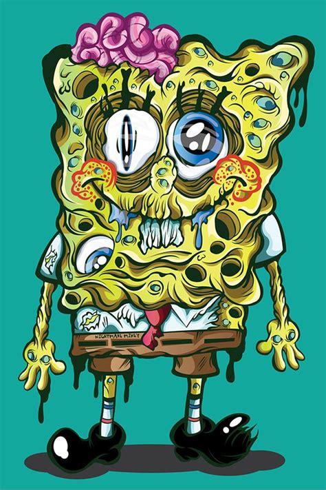 sludge bob toxic pants  nightmare mikey  behance