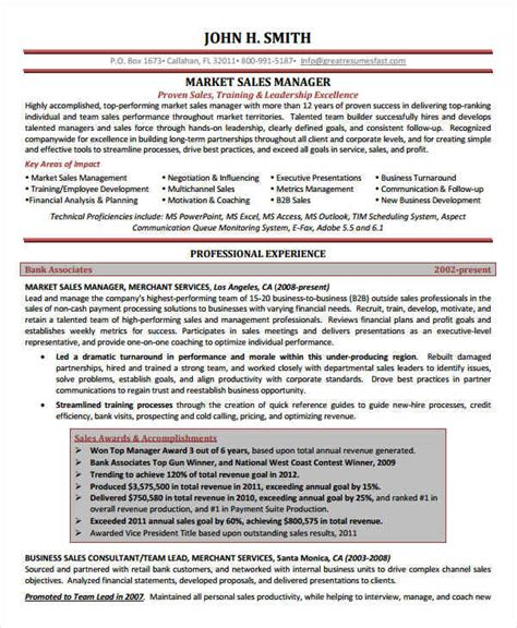 marketing resume sles for successful hunters