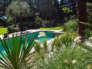Amenagement Autour Piscine Photos : jardin autour de la piscine aixen provence maison design ~ Premium-room.com Idées de Décoration