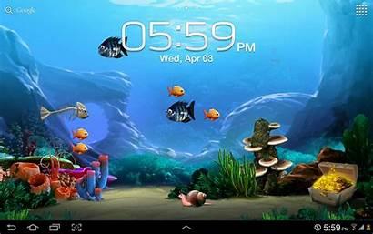 Screensavers Wallpapers Wallpapersafari Aquarium