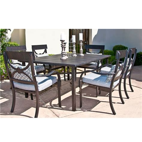 cape coral dining patio set by leisure select family leisure