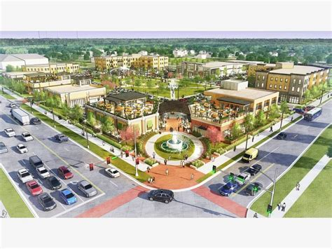 johnston prepares development plan  town center area