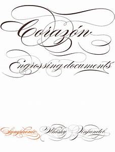Fancy Swirly Font Pictures to Pin on Pinterest - TattoosKid