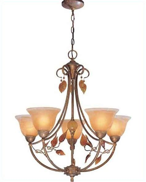 chandelier ls lite source 5 lites chandelier in rusted brown ironwood ls