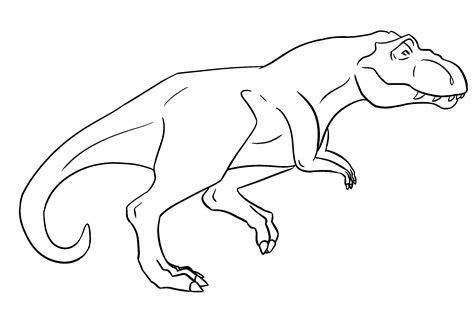 Ms Paint Friendly T Rex Lineart By Bananaflavoredshroom On