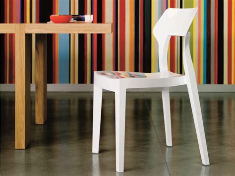 chaises casa chaise en polycarbonate by bontempi casa