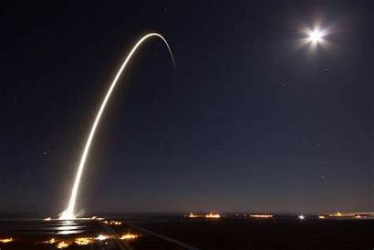 Spacex Falcon Launch Space Rocket Trail Satellite