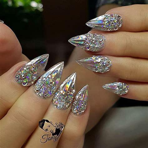 cinderella nails holographic mylar strips iridescent