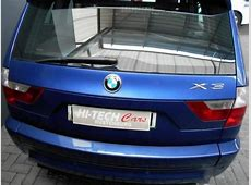 BMW X3 25si 2008 Technical specifications Interior and