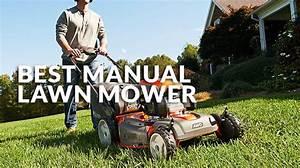 Best Manual Lawn Mower