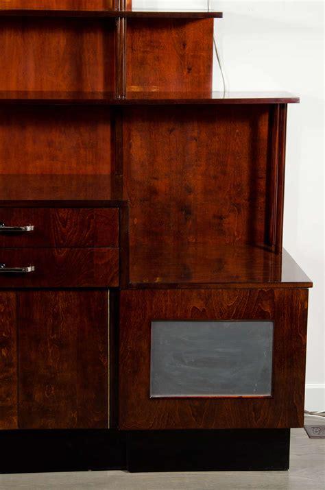 art deco bar cabinet outstanding machine age art deco bar cabinet server at 1stdibs