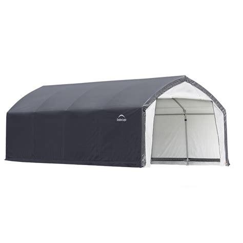 Home Depot Shelterlogic Sheds by Shelterlogic Accelaframe Hd Shelter 12 X 20 X 9 H