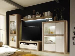 Weisse Wohnwand Gnstig Kaufen Schrankwand Wohnzimmer