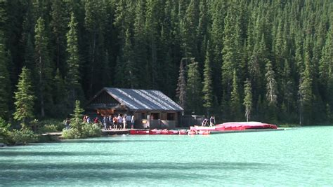 Lake Louise Boat Rental by Lake Louise Banff National Park Alberta Canada Boat