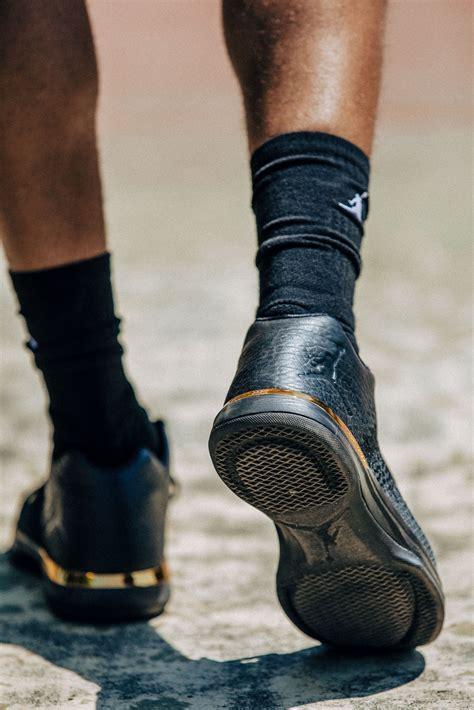 The Air Jordan Xxxi Low Gets The Triple Black And Metallic